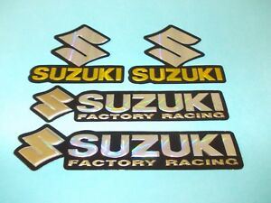 GSXR GS // BANDIT SUZUKI    TANK  DECALS IN  PURPLE UK FREEPOST.