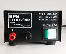 HPS Elektronik high power system Netzgerät 13,8 Volt 2 Ampere für CB Funkgeräte