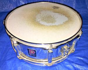 premier snare drum kit snare made in england 6 x 14 chrome remo skin ebay. Black Bedroom Furniture Sets. Home Design Ideas