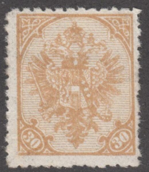 Bosnie-herzégovine #19 Comme Neuf 30 H Réimpression 1900 Pf 10.5