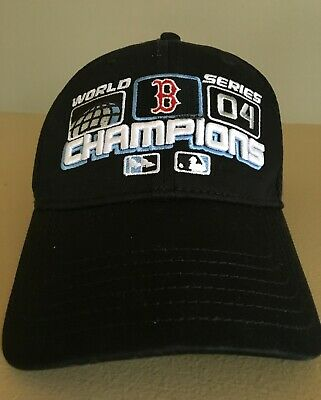 7de73b940ec99 Boston Red Sox BoSox 2004 World Series Champions New Era Flex Fit Ball Cap