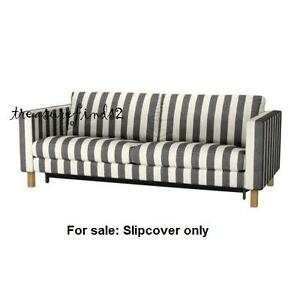 Image Is Loading Ikea Cover For Karlstad Sofabed Sleeper Slipcover Rannebo