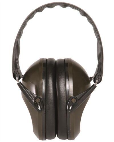 Mil-Tec Kapsel-Gehörschutz klappbar Kapselgehörschutz Gehörschutzkapsel Oliv
