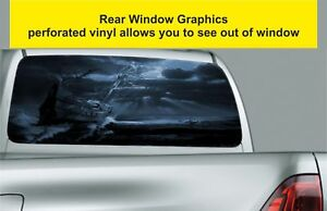 Window-Graphic-Tint-Truck-Jeep-SUV-Fantasy-Pirate-Ship-Sticker-Decal-451