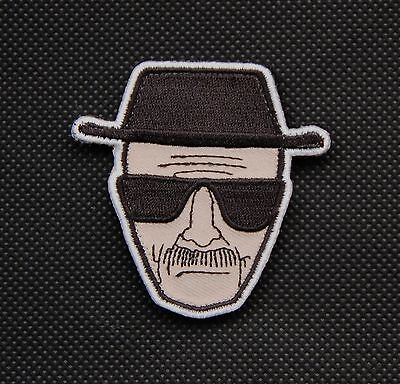 Heisenberg Morale Patch Breaking Bad Walter White VELCRO® Brand Fastener