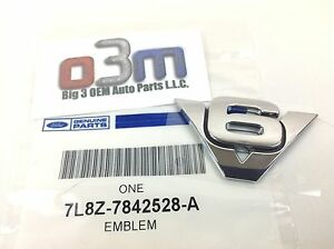 2005-2012 Ford Escape chrome nameplate HYBRID emblem OEM