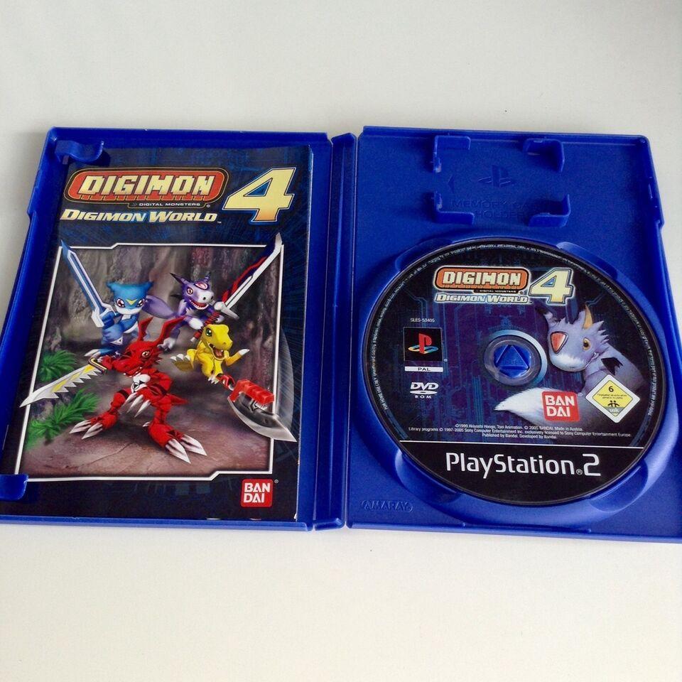 Digimon World 4, PS2, adventure