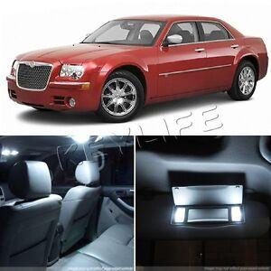 15x Full Set Smd Led Light Interior Bulb Package Deal For Chrysler 300 2005 2008 Ebay