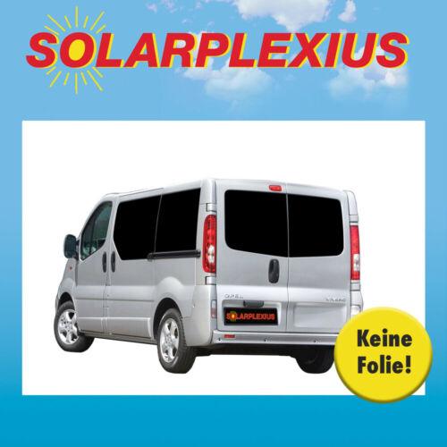 Auto Sonnenschutz Scheiben-Tönung Sonnenblenden  NISSAN Primastar A L2 Bj.01-14