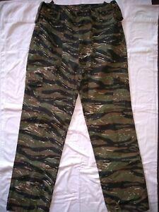 Tiger-Camouflage-Cargo-Pants-Sz36-34