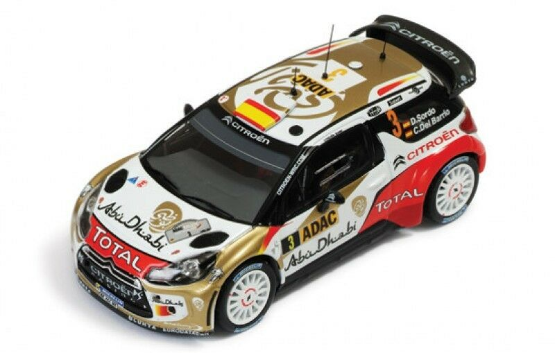 1 43 Citroen DS3 WRC  Total Abu Dhabi  Winner Rally Germany 2013  D.Sordo