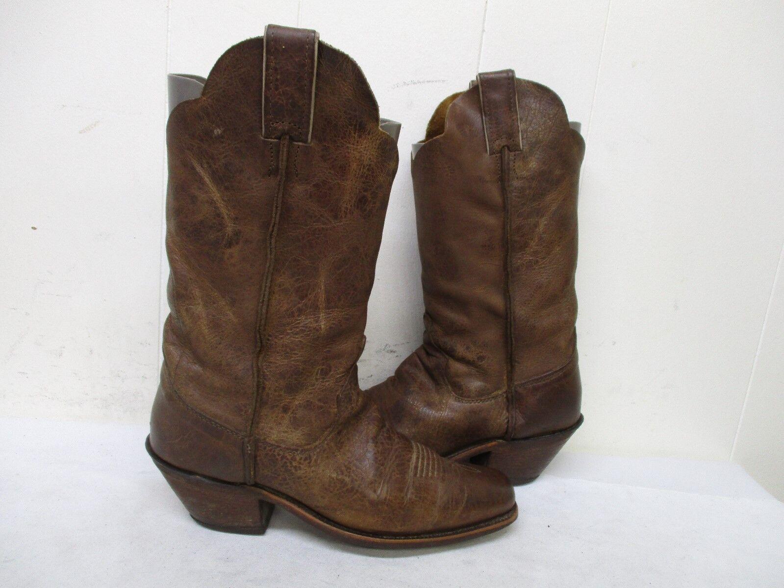 Justin Dedo Del Pie Cuadrado Cuero Envejecido Envejecido Envejecido botas de vaquero para mujer Talla 8 B estilo BRL122  tienda hace compras y ventas