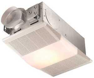 Broan 665RP Bathroom Exhaust Ventilation Fan w/ Heater ...