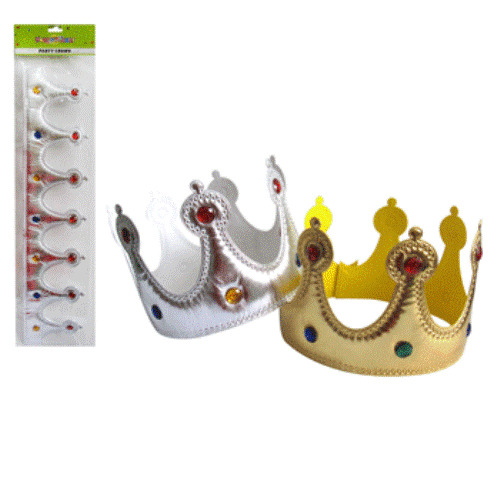 Prince King Crown Costume - Party Supplies Australia