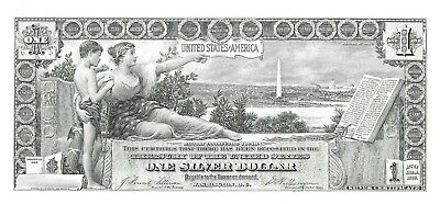 Educ. Note $5 Silver Cert. Proof Print by the BEP