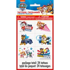 Nickelodeon Paw Patrol 25 Temporary Metallic Tattoos Skye Marshall Rocky