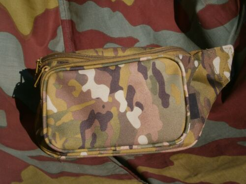 Marsupio tasca borsa militare mimetico borsino camouflage fanny pack bag