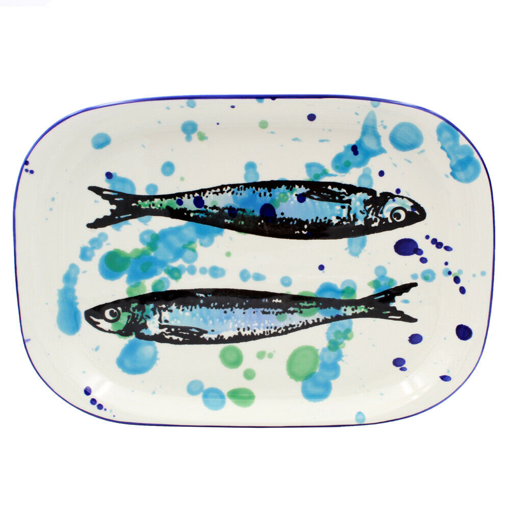 Portugal cadeaux Hand Painted Ceramic Serving Platter made in Portugal
