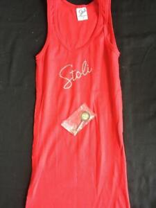 Stoli-womens-tank-top-with-keychain-red-Size-L-large