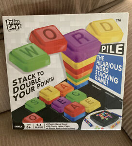 Word Pile The Hilarious Word Stacking Game Ages 6 And Up