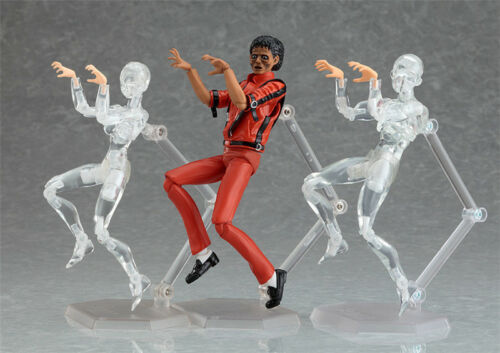 Michael Jackson Figma096 Figurine MJ Thriller Figure Model Toy Collection In Box