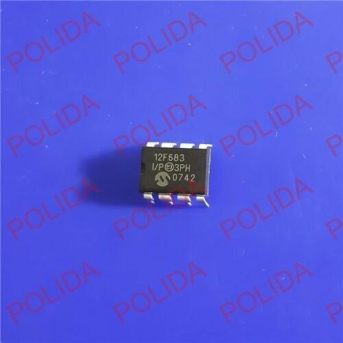 5PCS MCU IC MICROCHIP DIP-8 PIC12F683-I//P 12F683-I//P 12F683
