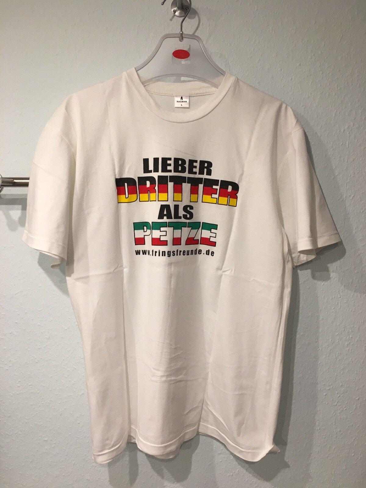 WM Shirt 2006 Gr : L.  Lieber Dritter Als Petzt Deutschland Rarität