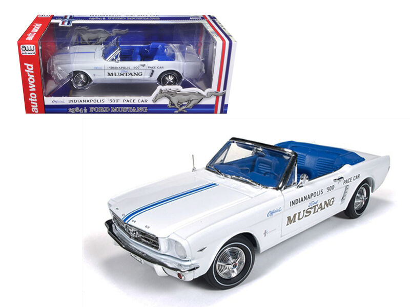 1964 1   2 ford mustang cabrio - 289 - indy 500 tempo auto limited edition aw209