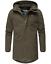 Weeds-senores-chaqueta-invierno-larga-chaqueta-Parka-abrigo-forro-calido-manakaa miniatura 21