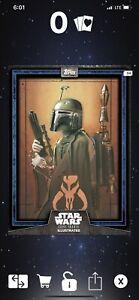 Star-Wars-Card-Trader-Illustrated-2019-CTI-BLUE-Boba-Fett-Series-6