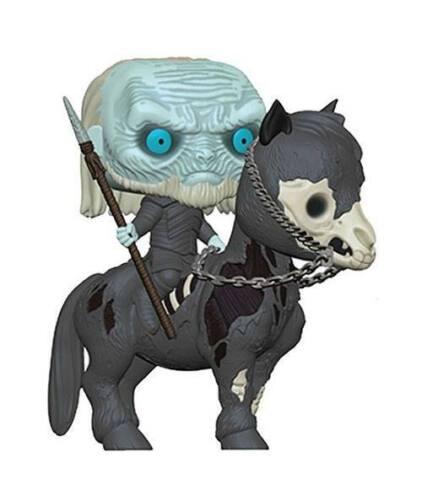 Funko POP Rides-Game of Thrones-White Walker on horse #37669