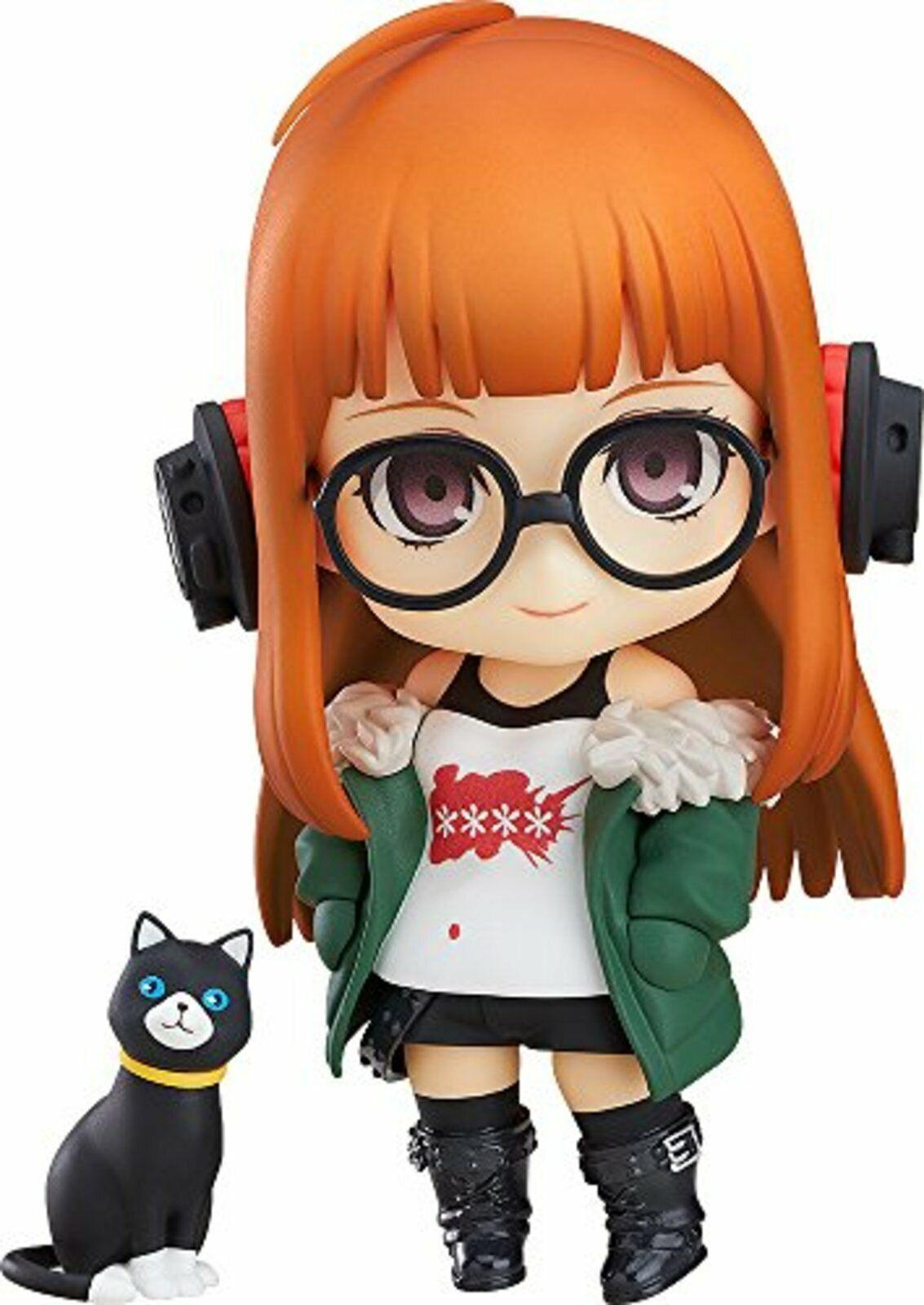 Nendoroid Persona 5 Sakura Futaba Non Scale ABS & & & PVC Painted Movable cifra F S 82021d