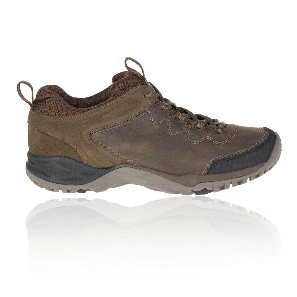 Merrell Mujer Siren Traveller Q2 Cuero Caminar Zapatos Marrón Deporte Exterior