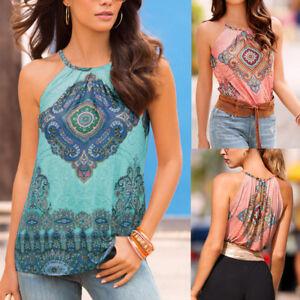 New-Women-Summer-Beach-Vest-Top-Sleeveless-Blouse-Casual-Tank-Loose-Tops-T-Shirt