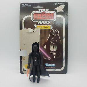 Vintage Star Wars NM Darth Vader w/ Original Lightsaber and Cardback  ESB HK