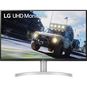 "LG 32UN550-W 32"" UHD 3840x2160 VA HDR10 AMD FreeSync Monitor"