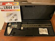 Electronic Digital Caliper Machinist Tool 0 150mm 6 Withcase And Batteries