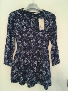 Robe-Fille-TIFFOSI-Comeros-100-coton-Bleu