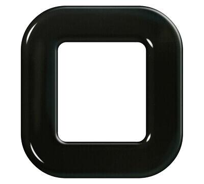 Gel Domed Black Metro Font N Ireland 60mm High Self Adhesive Digit /'P/'