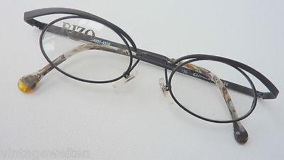 Außergewöhnliche Brille Kleine Ovale Glasform 43-18 Matt Schwarz Breite: M Grade Produkte Nach QualitäT
