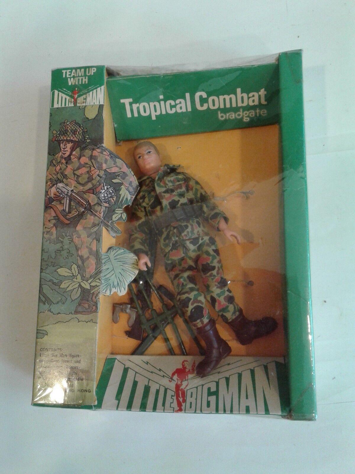 Vintage Little Big Man Action Figure Boxed  Tropical Combat