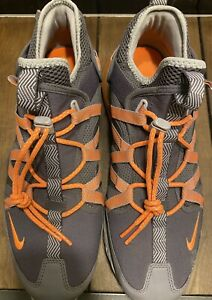 Nike-Mens-Sz-13-Air-Max-270-Bowfin-Thunder-Grey-Total-Orange-Gunsmoke-AJ7200-006