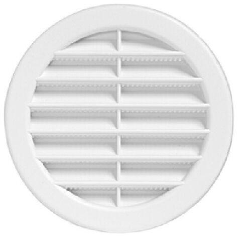 5 pezzi Griglie classiche da incasso in plastica circolari Con rete
