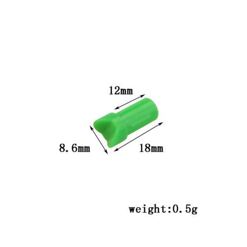 ID7.6mm OD8.8mm Half-moon Nocks CrossBow Arrow tails hunting//practice 12