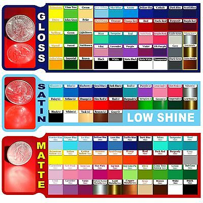 """15 sheet 12""""x24"""" Adhesive Backed Vinyl for all craft & sign Cutters"""