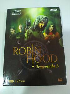Robin Hood Prima Stagione 1 Completa BBC - 4 X DVD Spagnolo Inglese - 3T