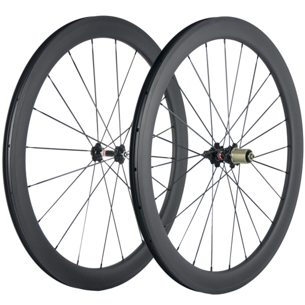 U Shape Carbon Wheelset 50mm Tubeless Carbon Wheels Road Bike  Bicycle Wheels  get the latest