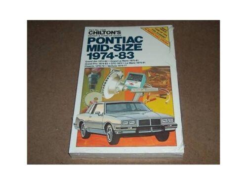 1974-1983 Grand Am Prix Chilton Repair Service Manual
