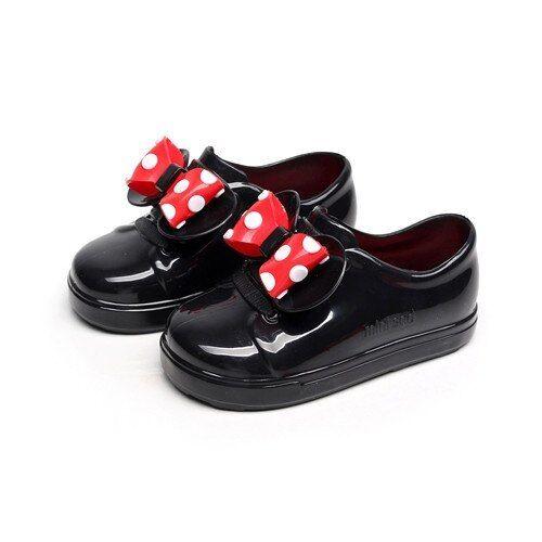 Mini Melissa Kid Rain Shoes Mickey Minnie Mouse Butterfly Girl Boy Waterproof