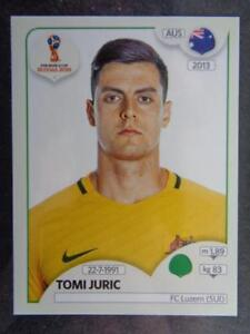 Sticker 230 Australien Tomi Juric Panini WM 2018 World Cup Russia